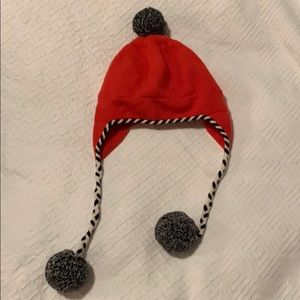 Kate Spade Red Winter Hat